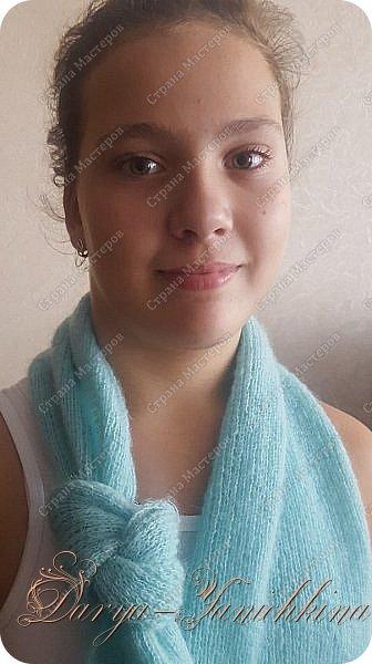 Шапка и шарфы. фото 3
