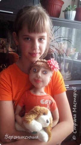 Портретная кукла. Ксюха фото 2
