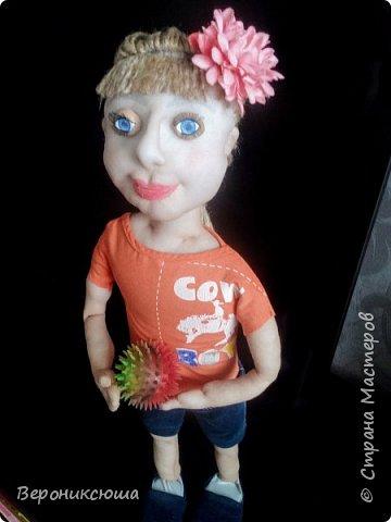 Портретная кукла. Ксюха фото 4