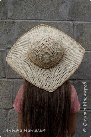 Шляпка с четырехугольными полями фото 1