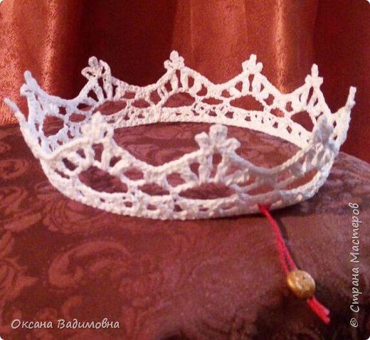 """Корона белая """"Принцесса"""""""