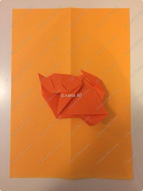 Кошки-мышки в технике оригами фото 2