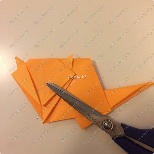 Кошки-мышки в технике оригами фото 24