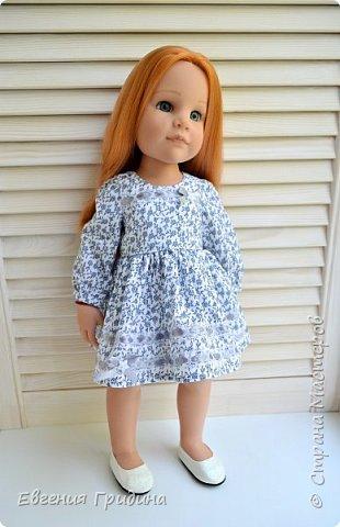 Новое платье для куклы 45-55 см  фото 1