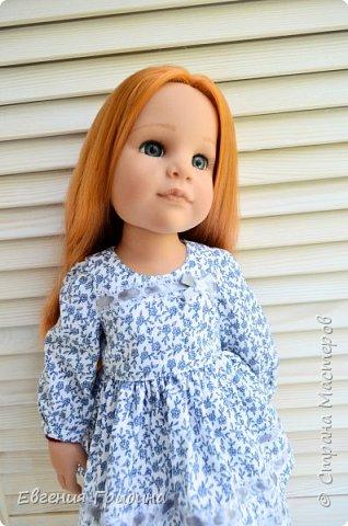 Новое платье для куклы 45-55 см  фото 2