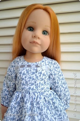 Новое платье для куклы 45-55 см  фото 6