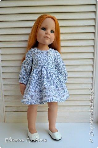 Новое платье для куклы 45-55 см  фото 9