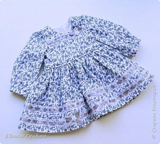 Новое платье для куклы 45-55 см  фото 4