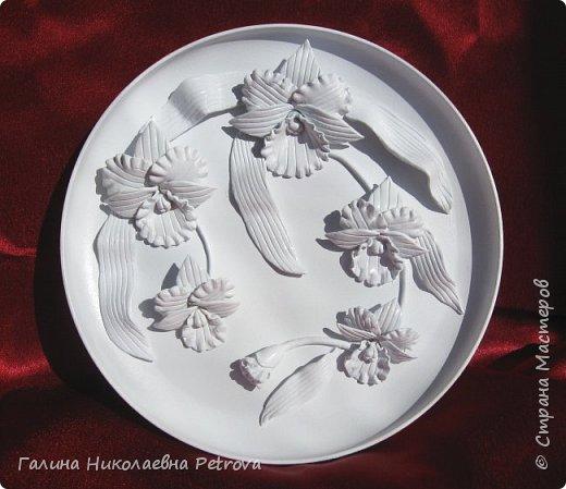 Тарелки из холодного фарфора.  фото 4