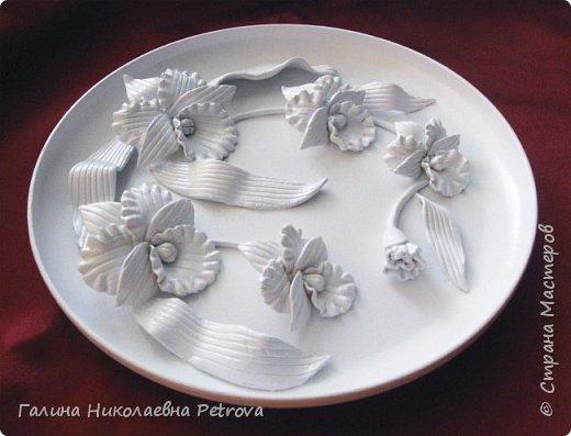 Тарелки из холодного фарфора.  фото 5