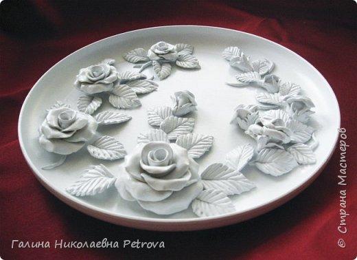 Тарелки из холодного фарфора.  фото 3