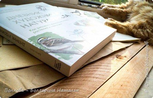 """Книга Джона Лоуза """"Дневник художника-натуралиста. Как рисовать животных, птиц, растения и пейзажи"""" (М.: МИФ, 2018) хороша не только тем, что автор даёт рекомендации по зарисовкам и оформлению (зарисовок) птиц, животных, насекомых, пейзажей. Очень много внимания уделено методам исследования интересующего объекта.  Читая, а скорее листая этот путеводитель по миру натуралистов, возникал вопрос: а зачем так заморачиваться, когда существуют фотоаппараты, диктофоны и энциклопедии? Конечно, с помощью техники наблюдать и фиксировать увиденное проще в разы, но наверняка интереснее делать это дедовским методом. И, опять же, это будут уже твои личные наблюдения и ты точно своими глазами/ушами увидишь/услышишь что-то новое.  Очень мне понравился способ зарисовывать/записывать песни птиц. Оказывается это так забавно и просто. Можно, и даже нужно, накладывать слова на птичью музыку. По этому поводу вспомнился случай из детства, когда прабабушка напевала мелодию, которую тринькали птицы, сидя на проводах. Самое смешное, что я тогда удивлялась, как так птицы могут петь """"сИрИда, пятница, между ними чИЧверИГ"""":)))) Не сразу дошло до меня, что это был экспромт бабушки наложить слова на мелодию:)  Кроме того, в книге очень много советов по материалам и техникам рисования.  Заманчивые пошаговые инструкции по рисованию разной живности не оставят вас равнодушным, руки так и будут тянуться попробовать что-нибудь зарисовать. Я попробовала изобразить божью коровку цветными карандашами, хотя в книге приведён пример на красках. Хотя тут кому что нравится. Мне больше нравится карандаши. фото 23"""