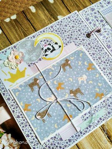 Альбом для маленькой принцессы с весёлыми пандочками. фото 7
