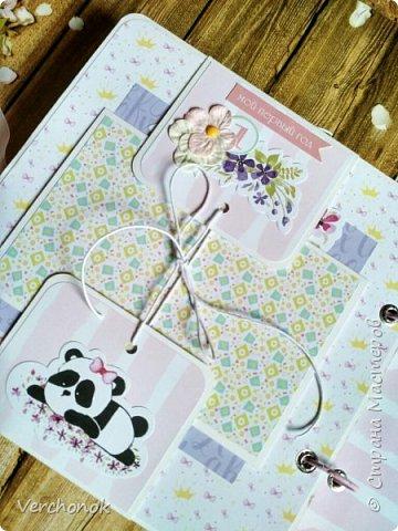 Альбом для маленькой принцессы с весёлыми пандочками. фото 14