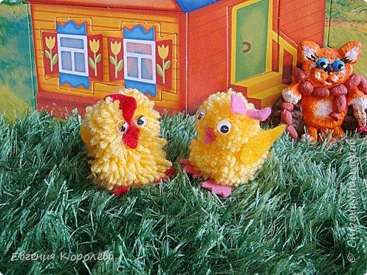 Доброго времени суток, дорогие жители Страны Мастеров! Хочу предложить вам небольшой мастер-класс по изготовлению вот таких цыплят.  Буду рада если кому-то понравится моя работа, а МК окажется полезен.  фото 1