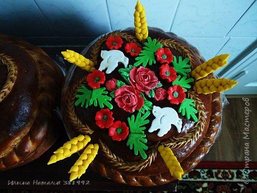 Свадебный каравай.  фото 3