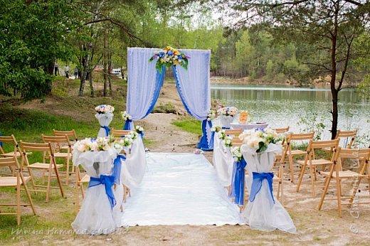 Свадьба в синем цвете.  фото 4