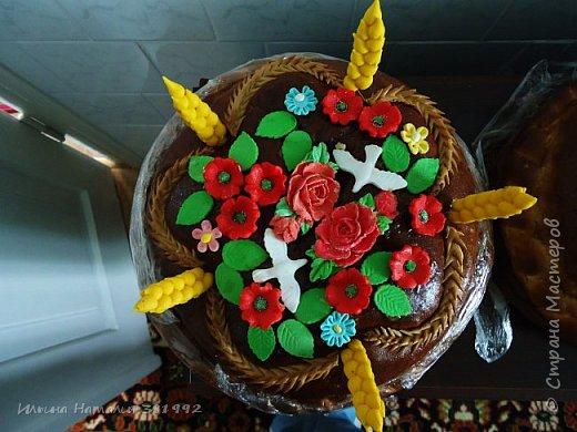 Свадебный каравай.  фото 5