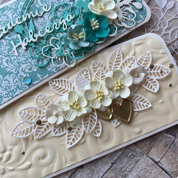 Вытягиваюсь в ритм:) пара конвертов и цветоделие :) фото 3