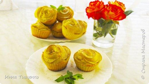 Рецепт очень простых и вкусных кексов с яблоками!