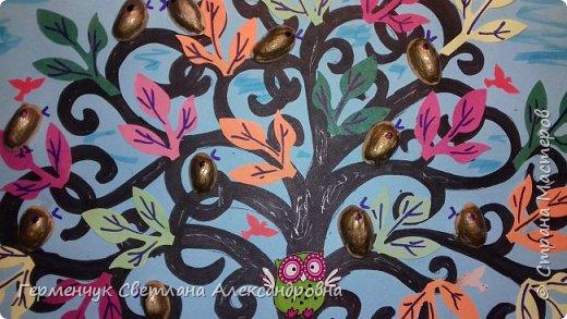 """Добрый день, жители СМ !!! Пока у нас стоит жара , а по календарю осень, мы с ребятами  """"посадили"""" чудо- деревья  с  фисташковыми птичками. Предлагаю вашему вниманию   аллею  с чудо- деревьями. фото 28"""