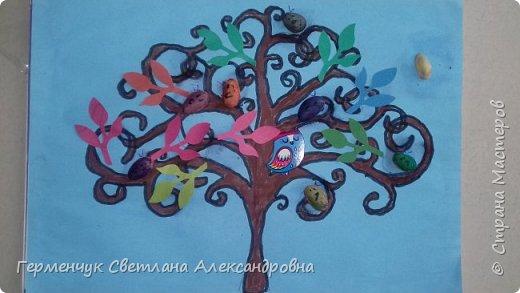 """Добрый день, жители СМ !!! Пока у нас стоит жара , а по календарю осень, мы с ребятами  """"посадили"""" чудо- деревья  с  фисташковыми птичками. Предлагаю вашему вниманию   аллею  с чудо- деревьями. фото 18"""