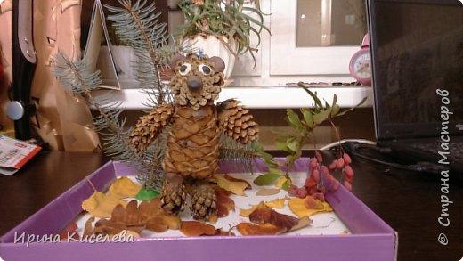 сова из осенних листьев 1 класс фото 2
