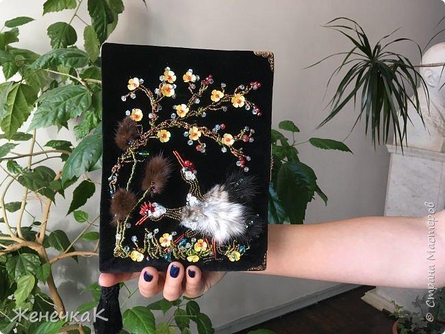 Клатч-книга «Цапли в саду» фото 3
