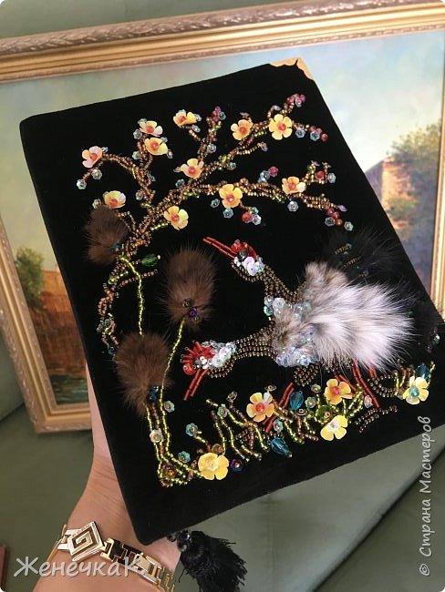 Клатч-книга «Цапли в саду» фото 11
