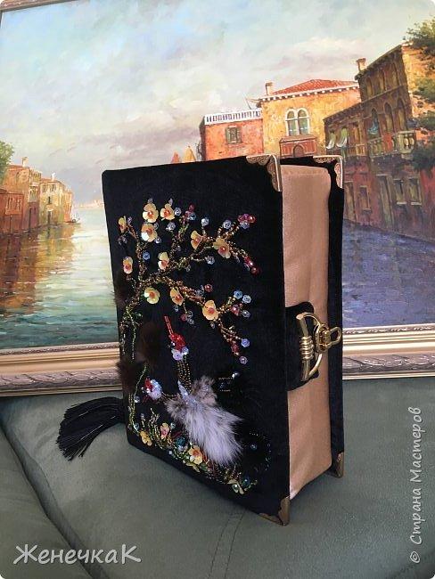 Клатч-книга «Цапли в саду» фото 5