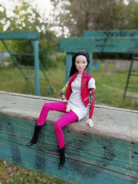 Накопились у меня тут фото ))) Это Миранда в новом платье свитере . Гуляли на озере . фото 20