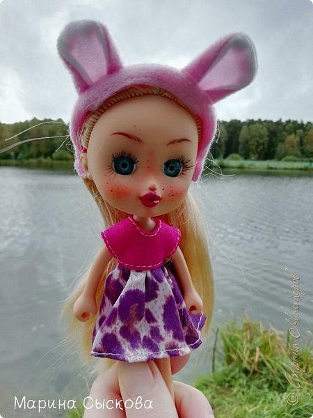 Накопились у меня тут фото ))) Это Миранда в новом платье свитере . Гуляли на озере . фото 12
