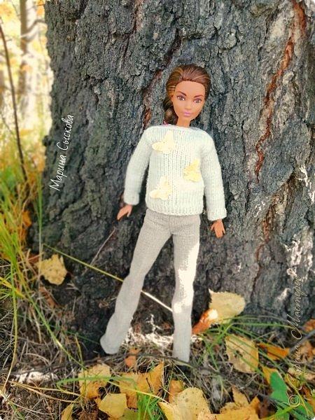 Накопились у меня тут фото ))) Это Миранда в новом платье свитере . Гуляли на озере . фото 31