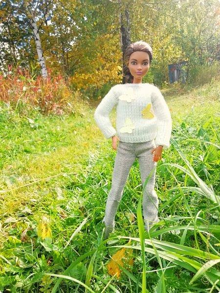 Накопились у меня тут фото ))) Это Миранда в новом платье свитере . Гуляли на озере . фото 32