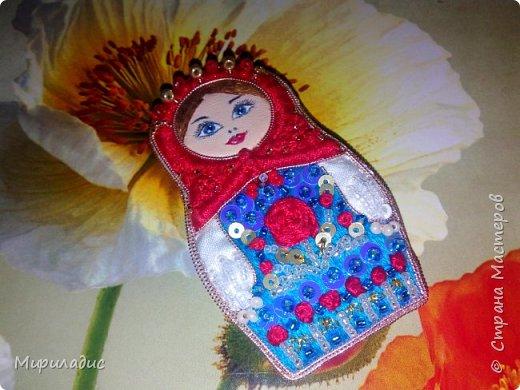 Матрёшка Розочка рада знакомству с вами! Яркая весёлая девчушка на прогулке ;) фото 9