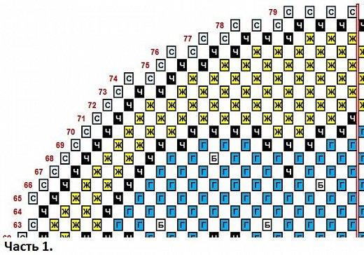 """Использована схема для вышивки крестом с сайта Pinterest (girafa na lua) - VAL PX 27/07/2016 Жирафик на Луне.  Внимание! Не у всех получается сделать ровной готовую работу в технике """"наискосок"""". Иногда поделка немного косит. Не могу объяснить почему так получается. Я стараюсь каждый ряд модулей сажать как можно ровнее, обязательно склеиваю модули, чтобы они не шатались и не искривляли работу, не спешу, даю клею немного подсохнуть, разворачиваю поделку, чтобы посмотреть, как сложены ряды. Но даже при всём этом, даже у меня не всегда получается ровно. Лучше начинать эту технику с небольших работ и набраться немного опыта. Ведь даже в обычной технике получаются разные по качеству поделки. А я просто показываю свои работы и рисую схемы. Спасибо за понимание! фото 17"""