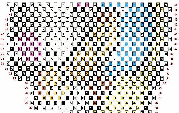 """Использована схема для вышивки крестом с сайта Pinterest (girafa na lua) - VAL PX 27/07/2016 Жирафик на Луне.  Внимание! Не у всех получается сделать ровной готовую работу в технике """"наискосок"""". Иногда поделка немного косит. Не могу объяснить почему так получается. Я стараюсь каждый ряд модулей сажать как можно ровнее, обязательно склеиваю модули, чтобы они не шатались и не искривляли работу, не спешу, даю клею немного подсохнуть, разворачиваю поделку, чтобы посмотреть, как сложены ряды. Но даже при всём этом, даже у меня не всегда получается ровно. Лучше начинать эту технику с небольших работ и набраться немного опыта. Ведь даже в обычной технике получаются разные по качеству поделки. А я просто показываю свои работы и рисую схемы. Спасибо за понимание! фото 6"""