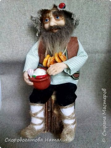 Кукла старик фото 1