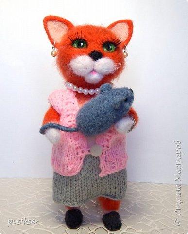 """""""Тетя,тетя Кошка,выгляни в окошко.."""" фото 1"""