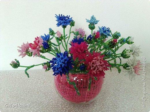 Полевые цветочки в пенечке фото 4