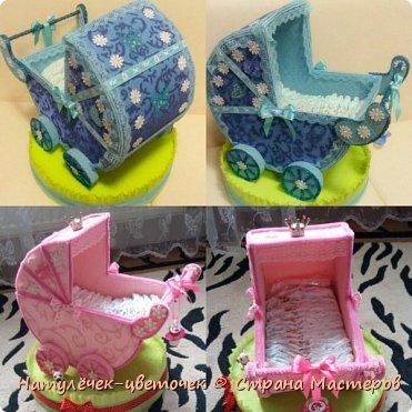 наконец розовая колясочка с памперсами и соской фото 6