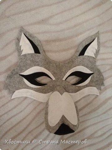 Вот такую маску ВОЛКА сделала племяннику для спектакля. Идея взята с просторов интернета. Эскиз рисовала сама от руки. фото 1