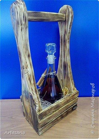 Бутылочница изготовлена вручную, это не покупная заготовка. фото 5