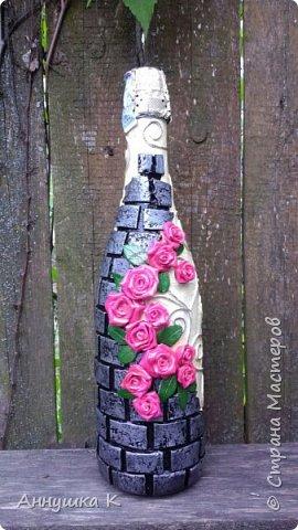 Декор бутылок на День рождения фото 6