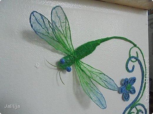 Приветствую всех заглянувших ко мне на страницу, посмотреть на моих стрекоз. Не ищите к какому виду стрекоз они относятся. Эти зелёно-голубые красавицы родились исключительно в моём воображении. фото 12