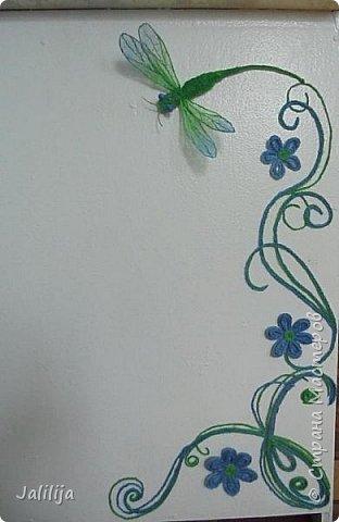 Приветствую всех заглянувших ко мне на страницу, посмотреть на моих стрекоз. Не ищите к какому виду стрекоз они относятся. Эти зелёно-голубые красавицы родились исключительно в моём воображении. фото 13