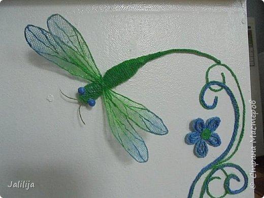 Приветствую всех заглянувших ко мне на страницу, посмотреть на моих стрекоз. Не ищите к какому виду стрекоз они относятся. Эти зелёно-голубые красавицы родились исключительно в моём воображении. фото 14
