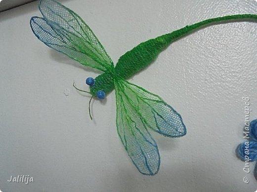 Приветствую всех заглянувших ко мне на страницу, посмотреть на моих стрекоз. Не ищите к какому виду стрекоз они относятся. Эти зелёно-голубые красавицы родились исключительно в моём воображении. фото 15