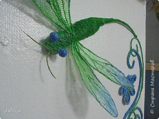 Приветствую всех заглянувших ко мне на страницу, посмотреть на моих стрекоз. Не ищите к какому виду стрекоз они относятся. Эти зелёно-голубые красавицы родились исключительно в моём воображении. фото 16