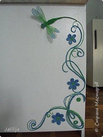 Приветствую всех заглянувших ко мне на страницу, посмотреть на моих стрекоз. Не ищите к какому виду стрекоз они относятся. Эти зелёно-голубые красавицы родились исключительно в моём воображении. фото 24